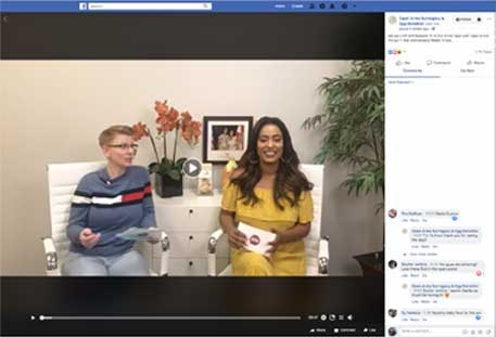 Grapevine Communications Case Study Open Arms Surrogacy Facebook Live Event